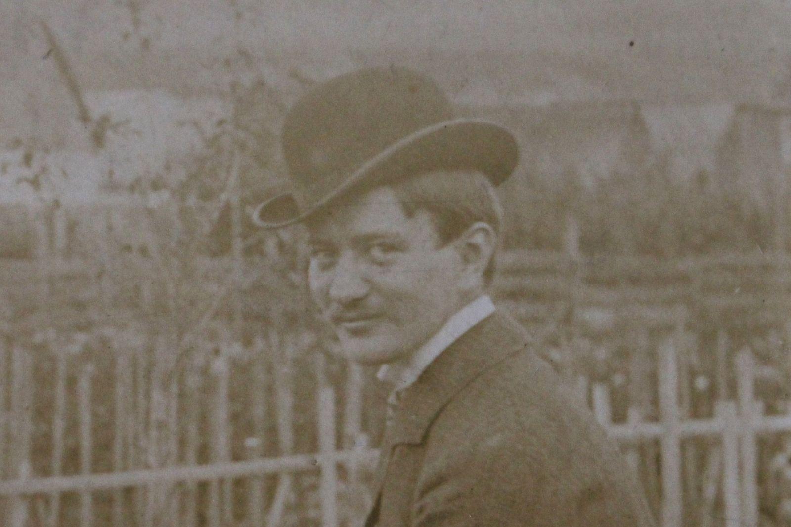 Paál Árpád 1925-ben Székelyudvarhelyen | Forrás: Paál Árpád Kézirathagyatéka, Haáz Rezső Múzeum, Székelyudvarhely