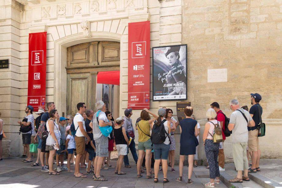 Fotó: A fesztivál hivatalos honlapja: www.festival-avignon.com