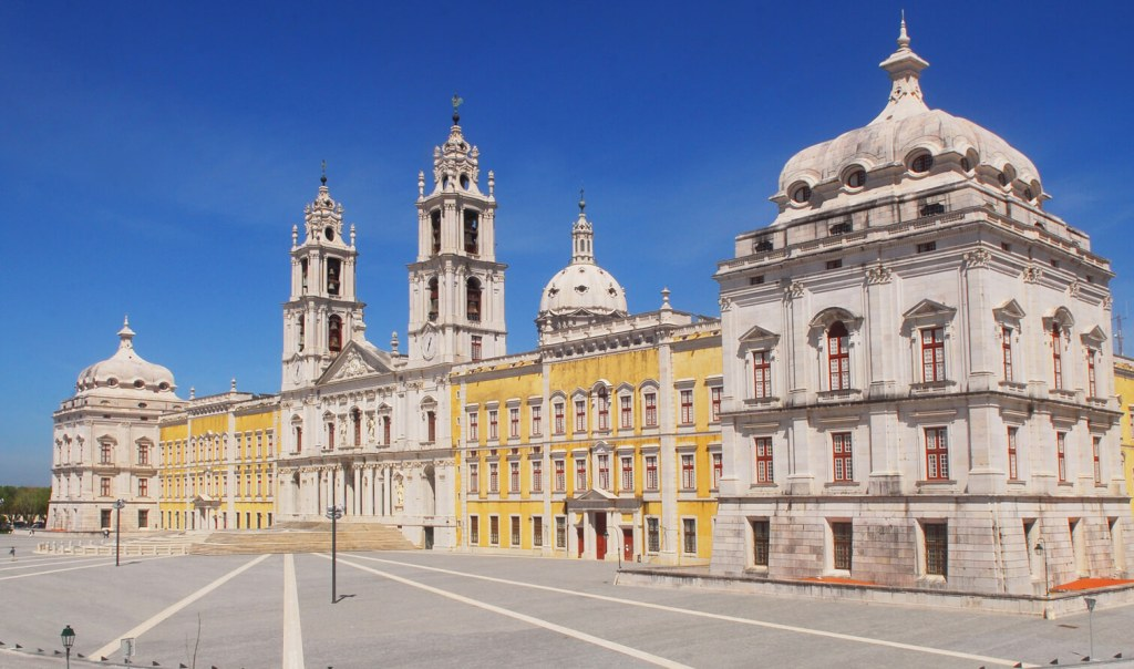 A portugáliai Mafra palota | Forrás: Wikipédia