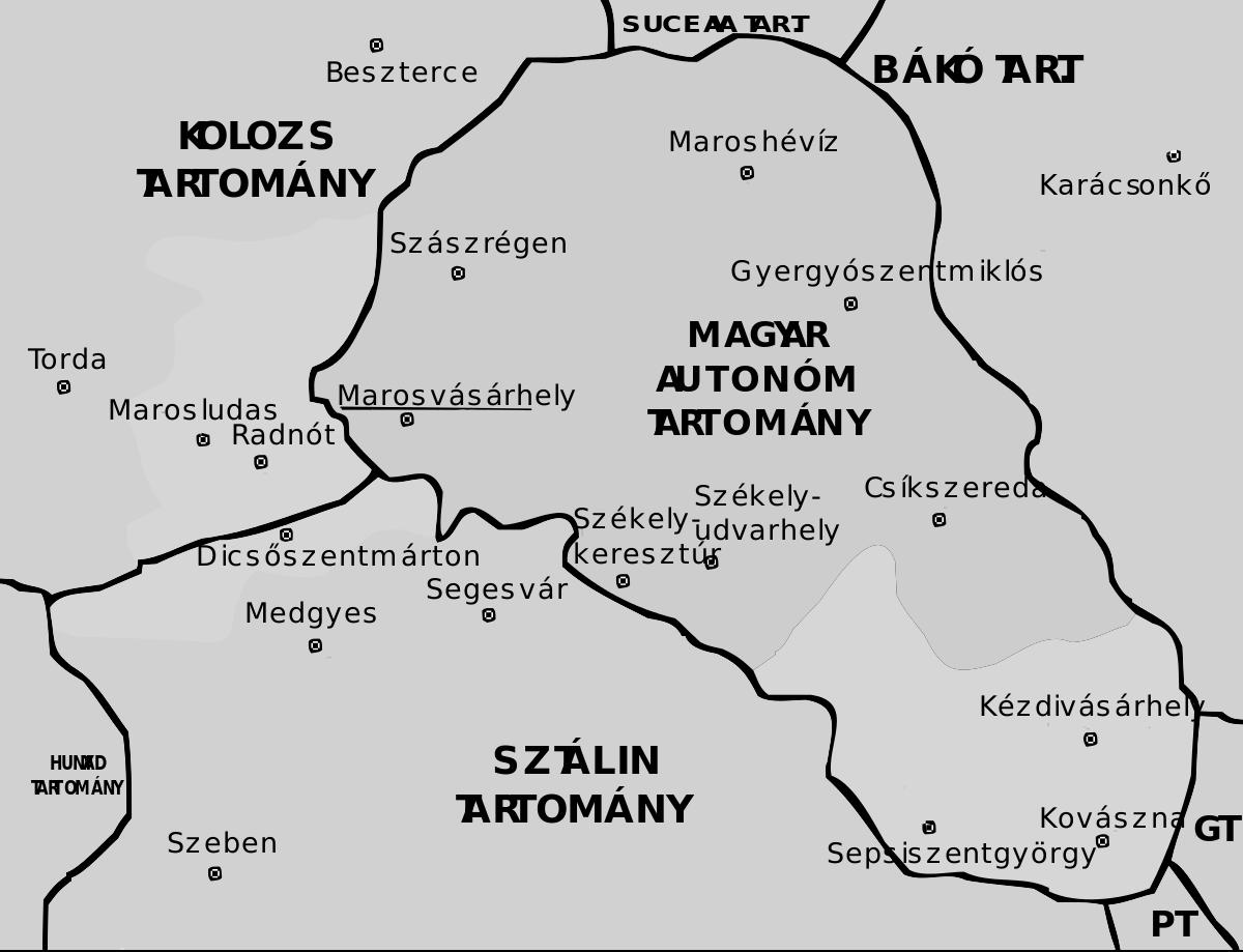 A Magyar Autonóm Tartomány