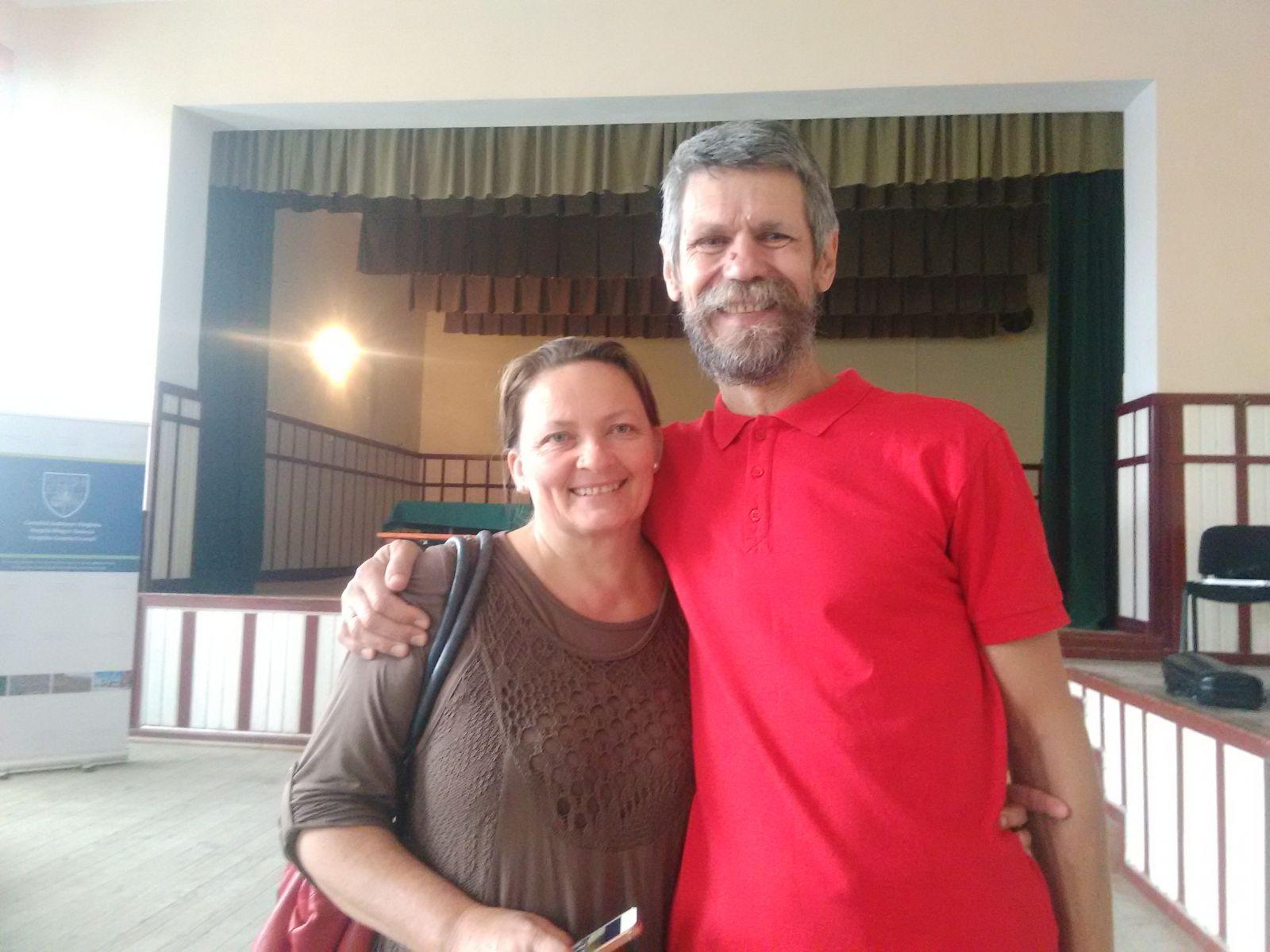 Szalay Zoltán és neje, Antal Rózsika