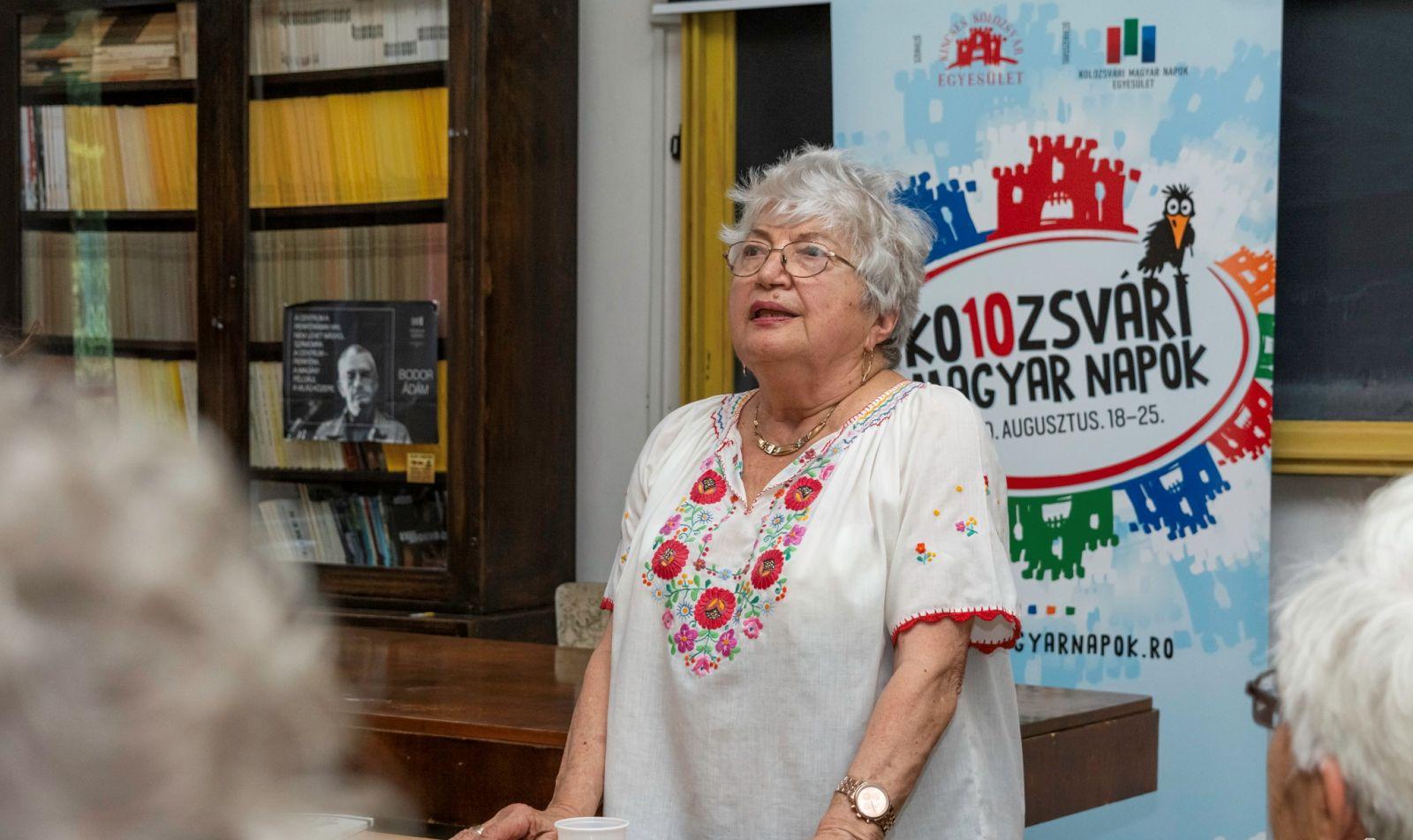 Bálint Júlia, az író özvegye emlékezik | Forrás: KMN