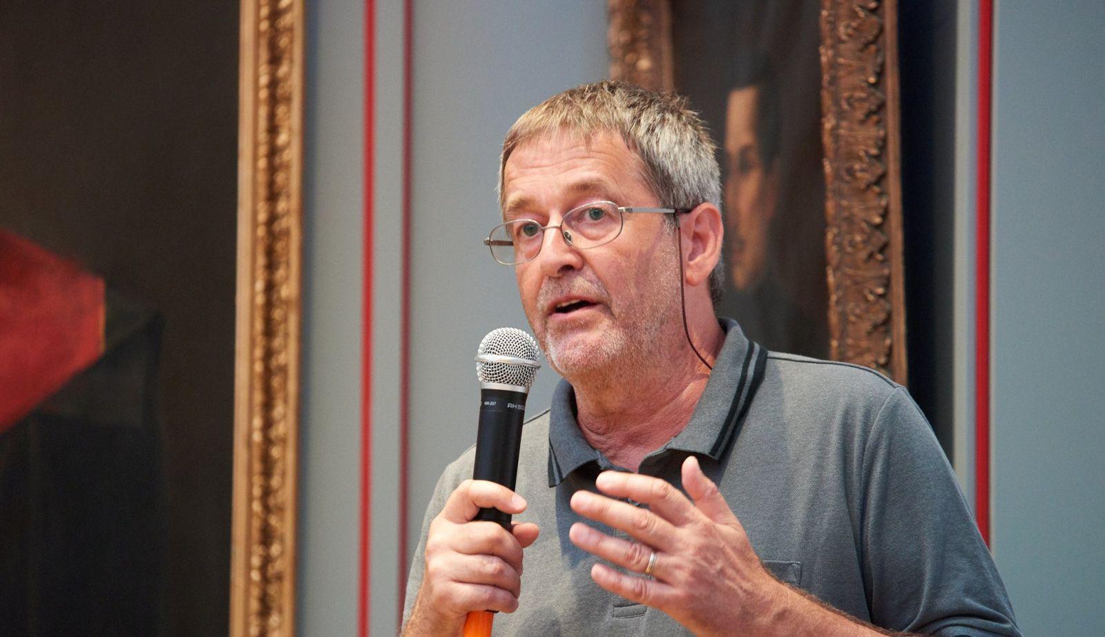 Gy. Dávid Gyula, a szerző   Forrás: KMN/ Bíró István
