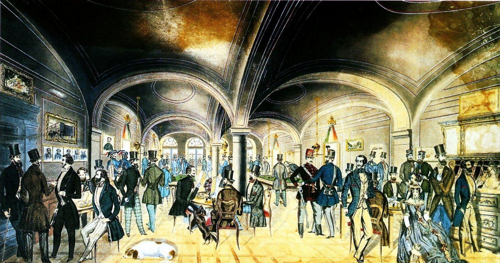 A Pilvax kávéház | Forrás: Wikipédia