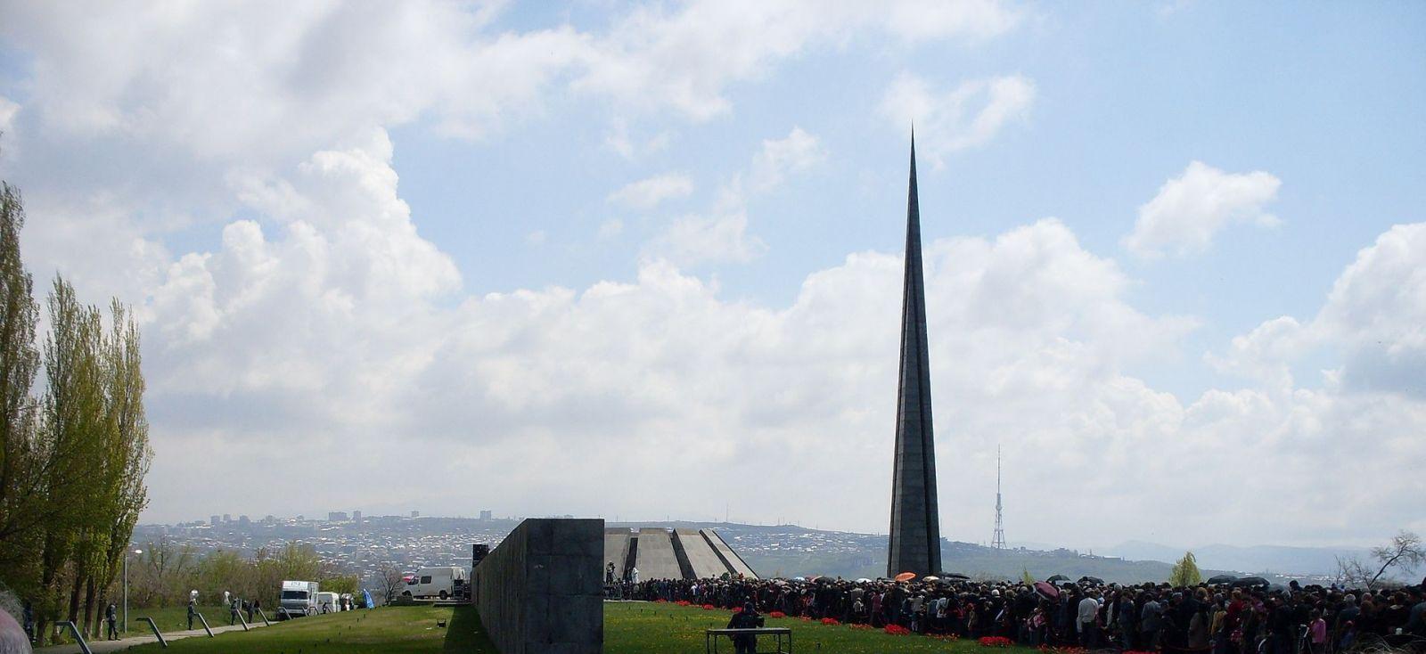 Az örmény népirtás emlékműve | Forrás: Wikipédia
