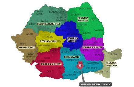 Igy Nezne Ki Romania Uj Regios Terkepe