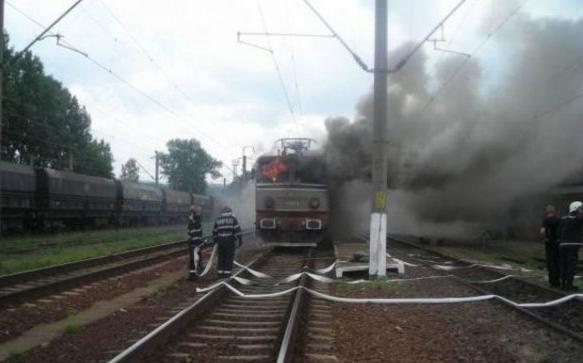Kigyulladt a Temesvár és Jászvásár között közlekedő vonat
