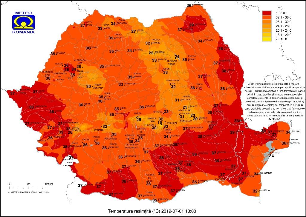Akár 37 fokos hőség is lehet Erdélyben