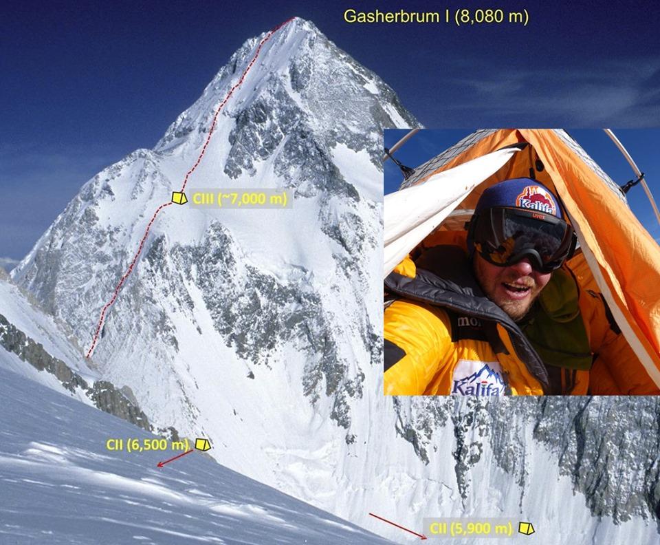 Varga Csaba nagyváradi hegymászó elindult negyedik nyolcezres csúcsának meghódítására