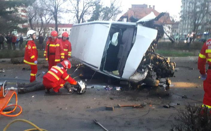 Halálos baleset történt Marosvásárhely központjában