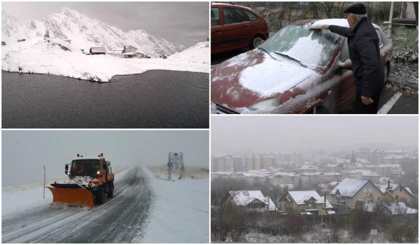 Székelyföldre beköszön a tél, hideg lesz