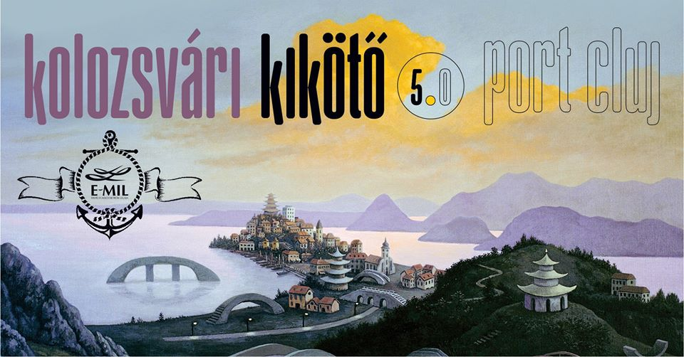 Az ötödik Kikötő plakátja, amelyen Valentin Lustig festményének a részlete látható