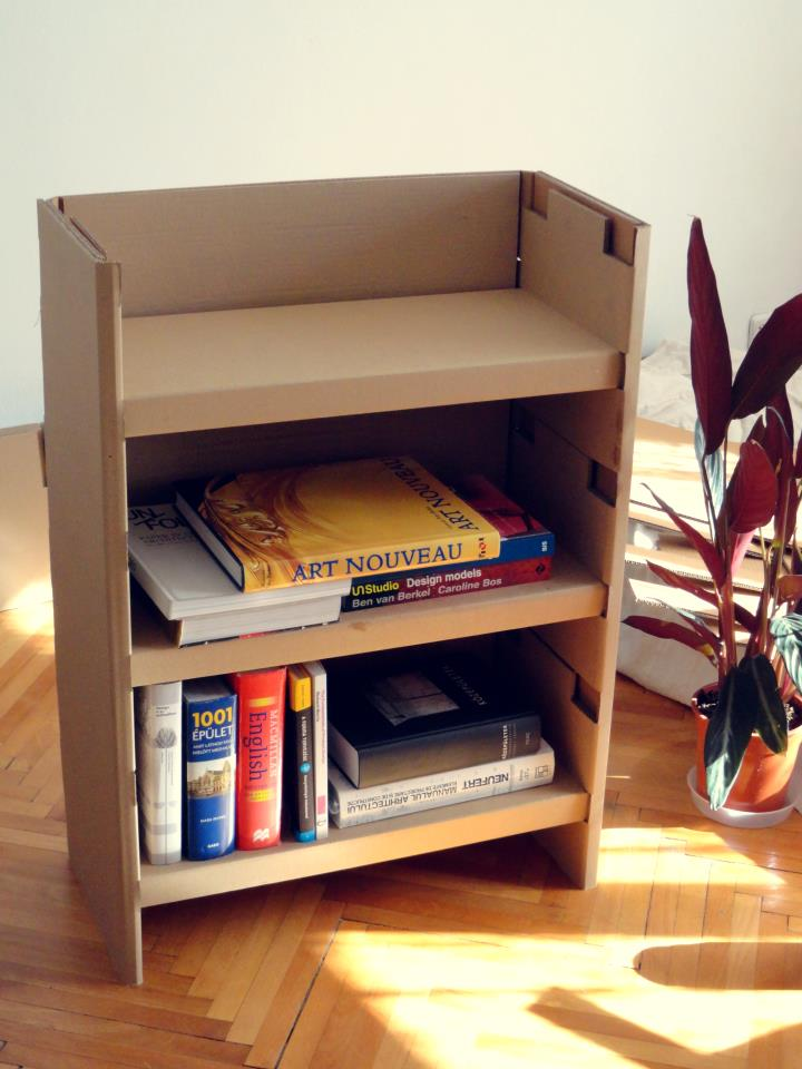 Karton bútor készítés házilag