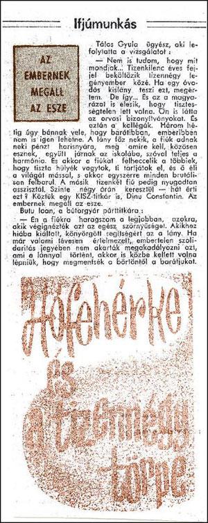 Károly SZBEI, Kiss Ernő, Kővári András (Fehér Gyűrű), és névtelen informátor az.