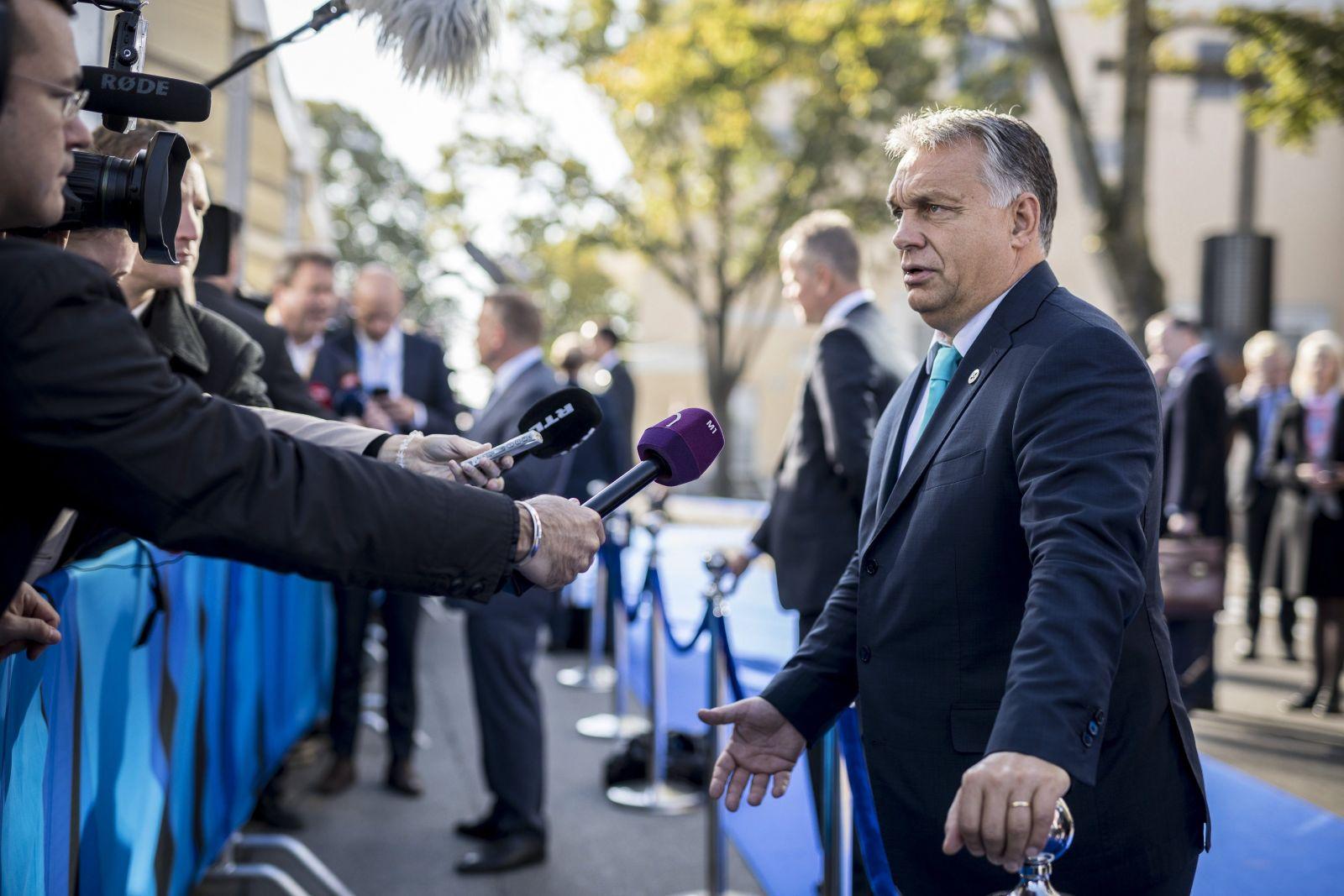 Fotó: Miniszterelnöki Sajtóiroda / Szecsődi Balázs