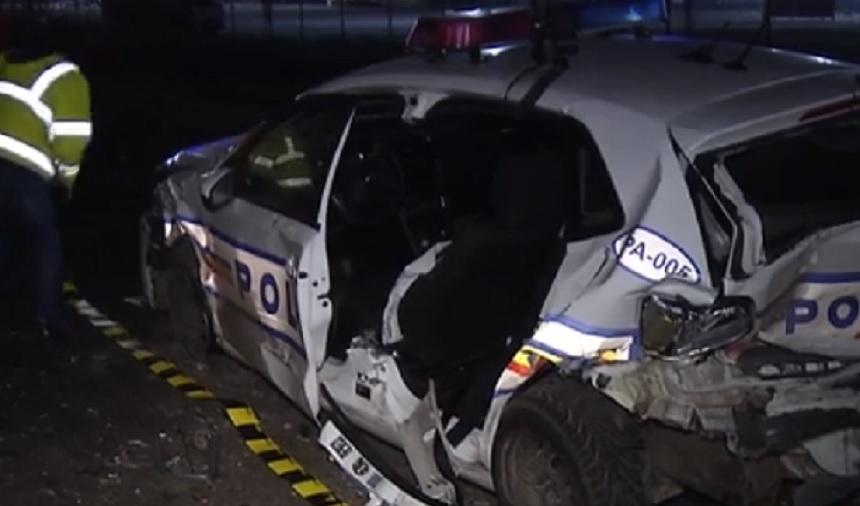 Balesetet szenvedett a balesetre kiérkező rendőr
