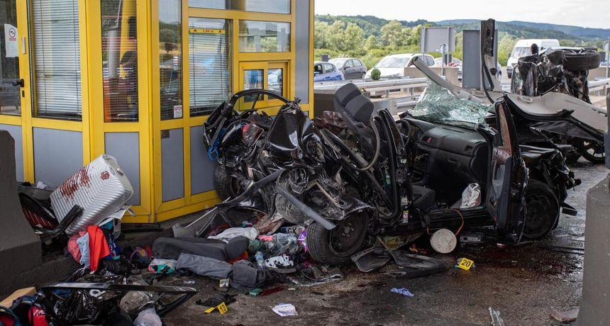 150-el hajtott bele egy horvát BMW-s egy magyar család autójába [VIDEÓ]