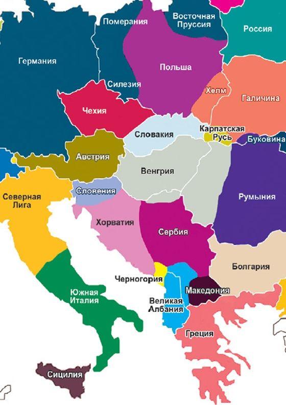térkep Orosz amerikai terv: 2035 re új Európa térkép?