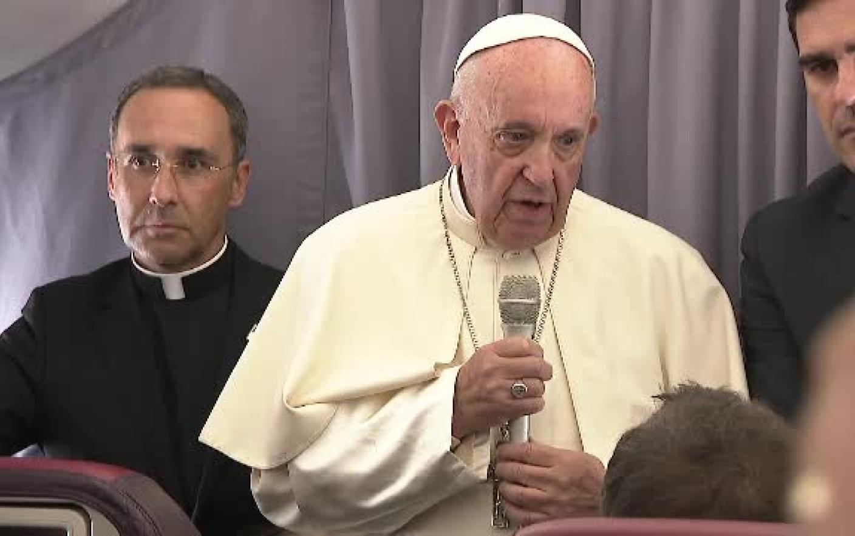"""Ferenc pápa Erdélyről: """"csodálatos, nem láttam még ehhez foghatót"""""""