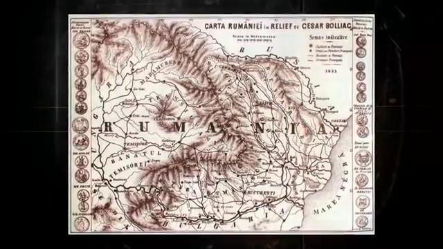 Nagy Románia térképe a 19. századból | Forrás: Magyarok Romániában dokumntumfilm